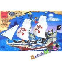 """Конст-р""(Brick) «Пиратский корабль» (аналог LEGO)"